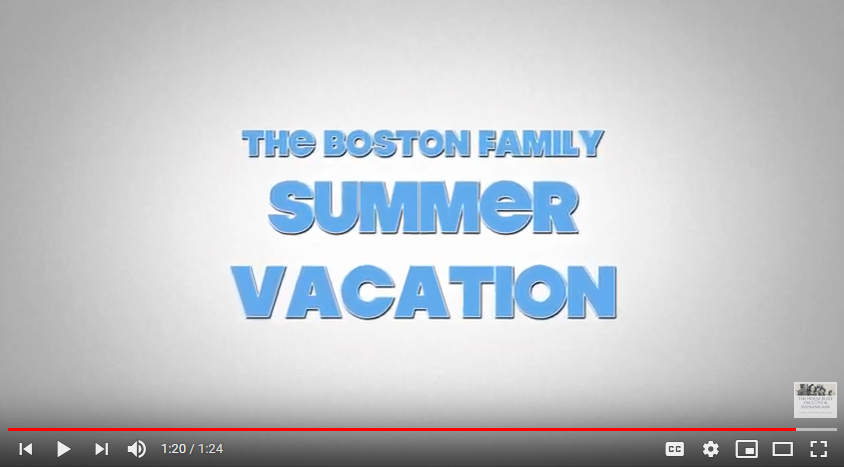 At Home With The Bostons: Summer Vacation Road Trip Trailer