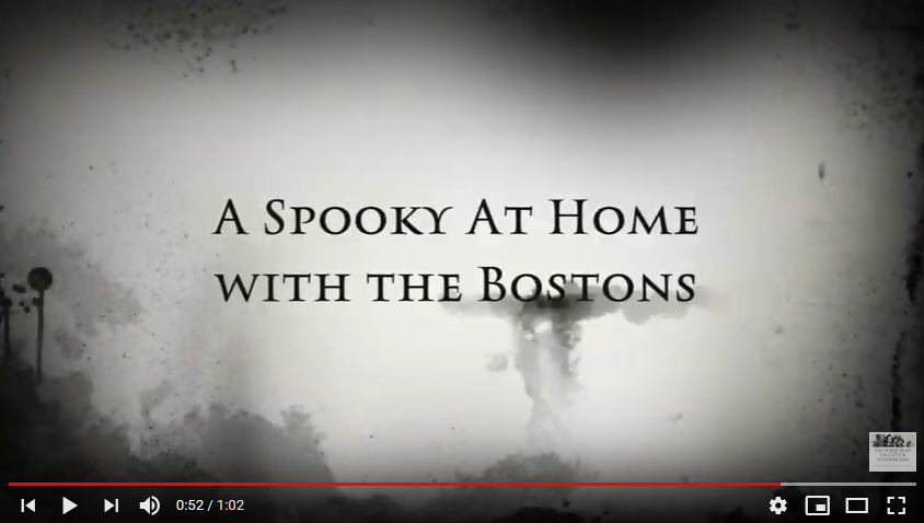 A Spooky At Home with the Bostons