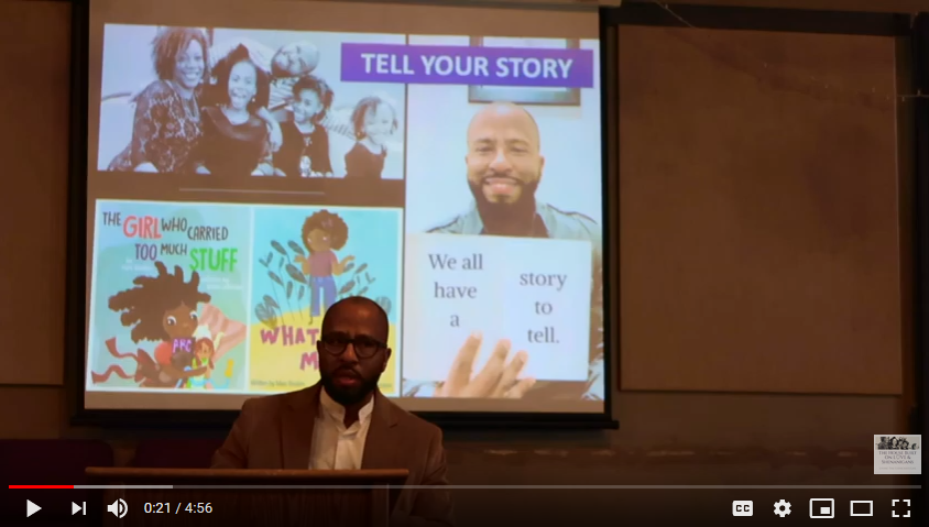 Tell Your Story by Author Marc Boston